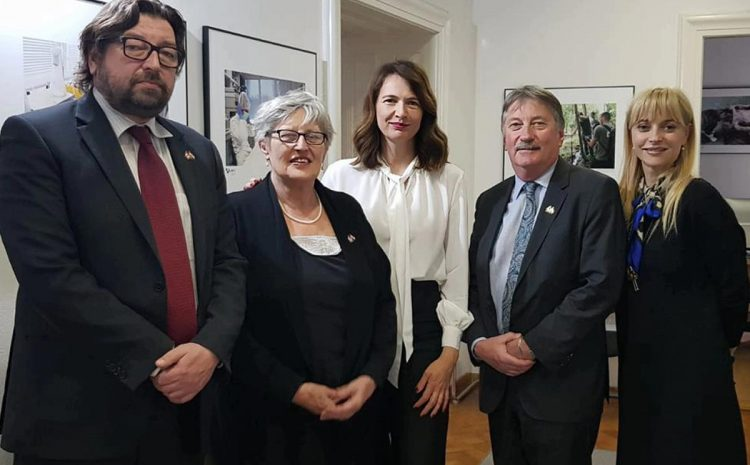 Posjet voditelja Kanadske komisije za koordiniranje istraživanja (CRCC)
