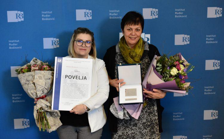Znanstvenice financirane od strane HRZZ-a dobitnice nagrada Hrvatskog mikrobiološkog društva i Zaklade Branimir Jernej