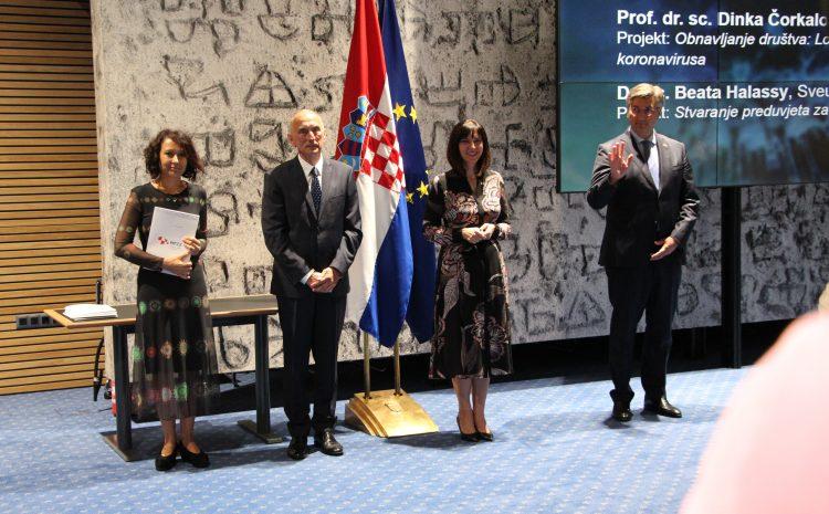 """(Tportal) Predstavljanje """"koronaprojekta"""" dr. sc. Andreje Mikoč"""