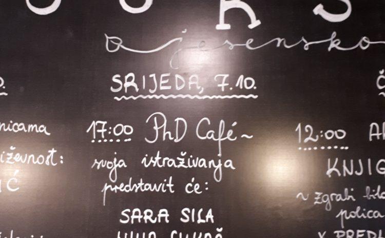 Održan Zagreb PhD Café #4