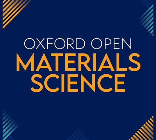 Chemists from Osijek published a paper in the new journal Oxford Open Materials Science