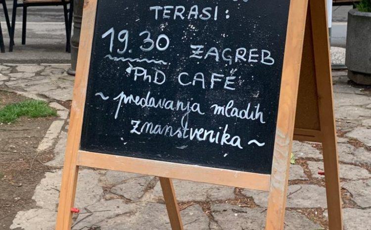 Održan Zagreb PhD Café #5